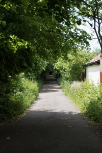 THE LANE TO THE BURIAL GROUND